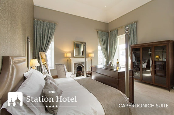 4* The Station Hotel stay, Speyside