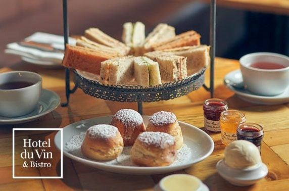 4* Hotel du Vin afternoon or cream tea, St Andrews