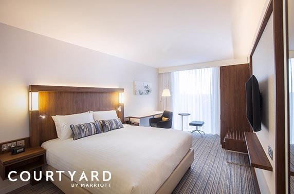 Marriott stay, Edinburgh - from £59