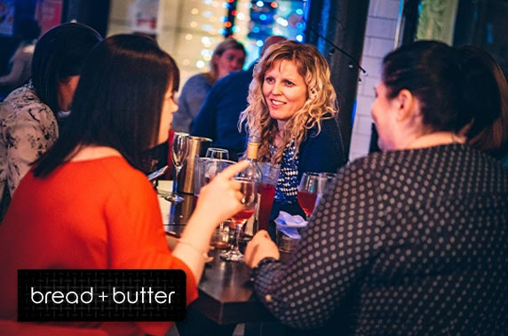 Bread + Butter group cocktails - valid 7 days
