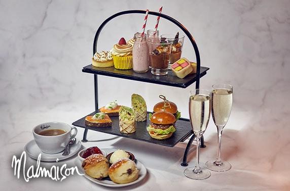 4* Malmaison Dundee Prosecco or gin afternoon tea