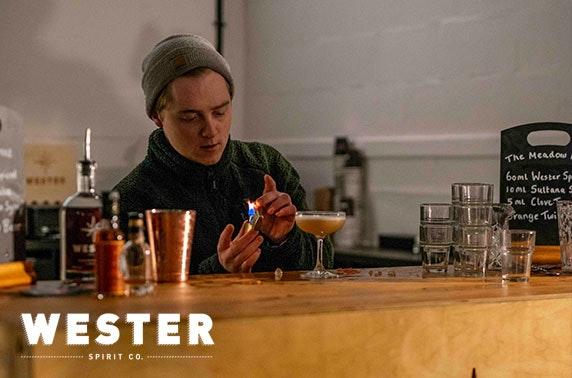 Wester Spirit Co Distillery tour