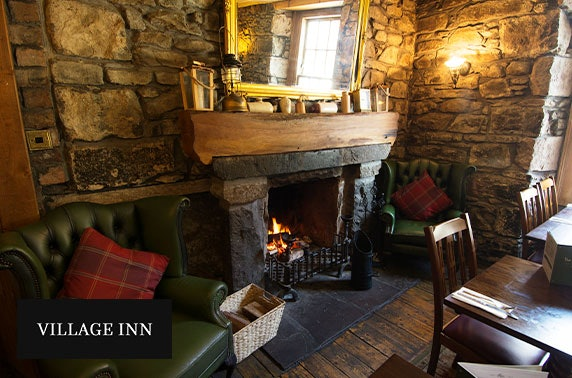Village Inn stay, Arrochar - from £59