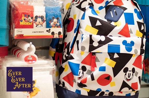 Disney gifts voucher spend