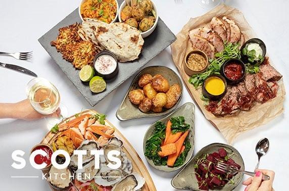 Scotts Kitchen festive feast