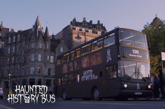 Haunted History Bus tour, Edinburgh - from £7pp