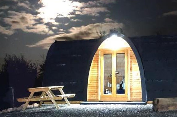 Eco Pods Kilry stay - valid 7 days