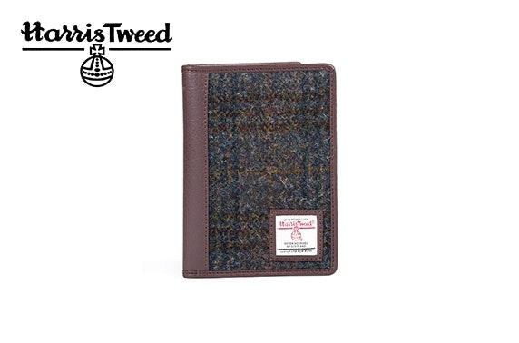 Harris Tweed travel wallet
