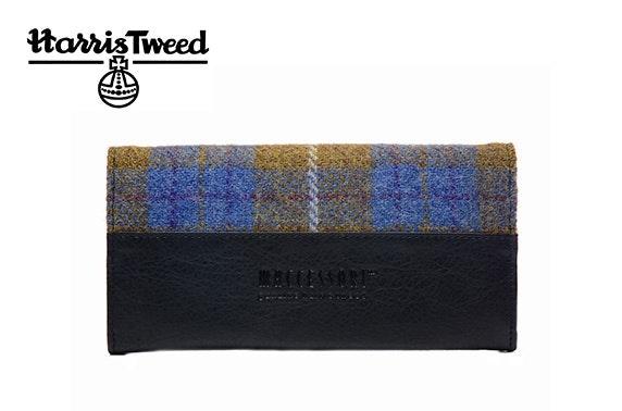 Harris Tweed envelope purse