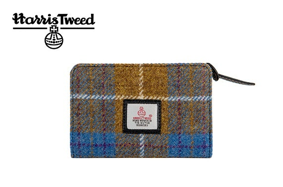 Harris Tweed zip purse
