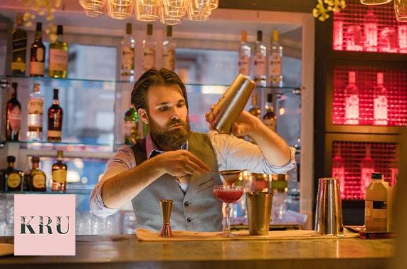 New KRU brunch & cocktails