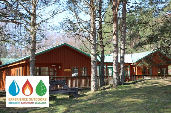 Lodge stay in Cairngorms National Park