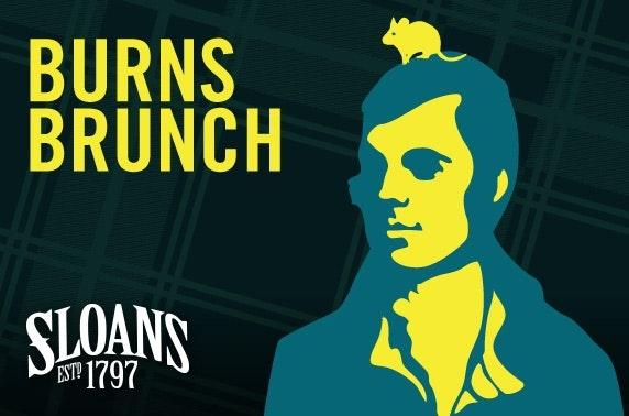 Sloans Burns Brunch
