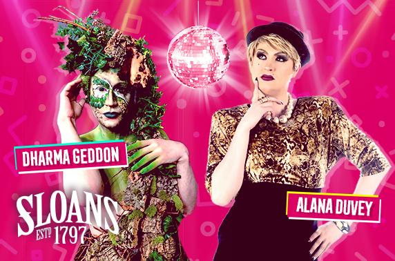 Ru Paul's Drag Race UK Finale, drag show & cocktails
