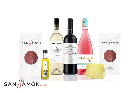 San Jamón luxury hampers