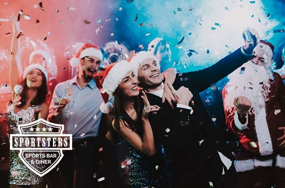 Sportsters festive party night, Falkirk