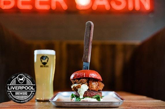 BrewDog Liverpool burgers & beer
