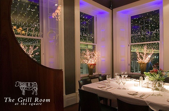 Private dining experience, The Grill Room at the Square