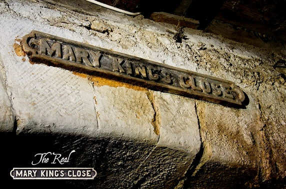 The Real Mary King's Close group tours - from under £10pp