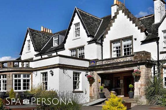 Spa Persona treatments, Loch Lomond