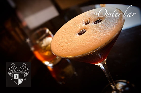 29 Oyster Bar festive cocktails