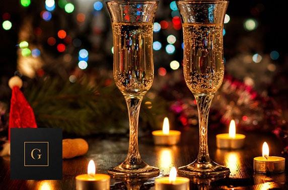 The Grahamston festive dining at 4* Radisson Blu