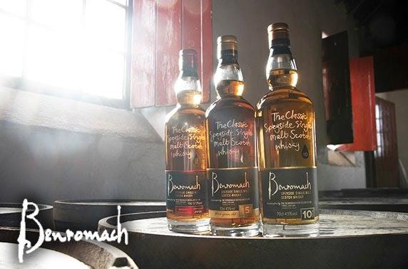 Benromach Distillery tour & tasting