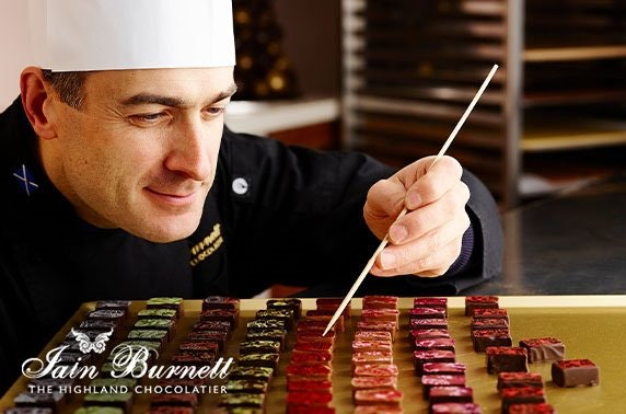 Award-winning chocolatier tasting session