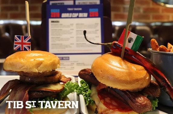 Tib Street Tavern dining & drinks