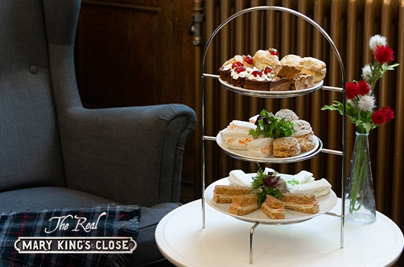 The Real Mary King's Close afternoon tea