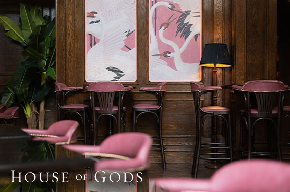 Voucher at newly-opened House of Gods cocktail bar