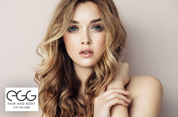 Blow dry, cut & optional colour at Egg Hair and Body, City Centre