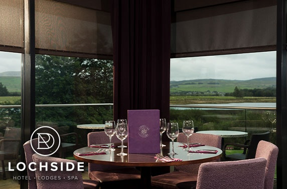 4* Lochside House Hotel & Spa stay