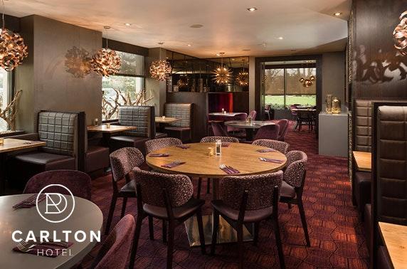 Carlton Hotel DBB from £75