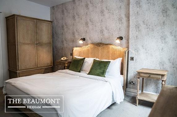 The Beaumont Hotel, Hexham - valid 7 days until Mar 2021