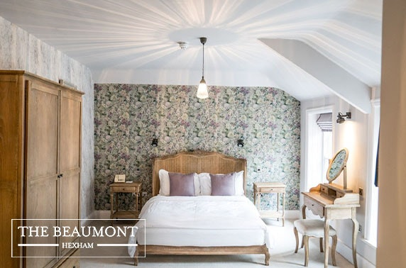 The Beaumont Hotel, Hexham - valid 7 days until Mar 2021