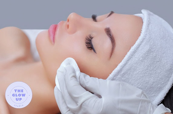 Luxury dermaplaning facial, City Centre