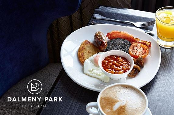 Dalmeny Park House Hotel stay
