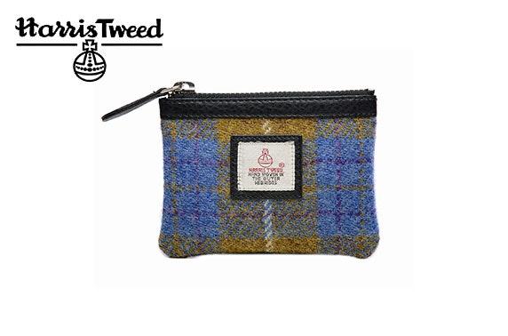 Harris Tweed coin purse