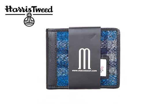 Harris Tweed bifold wallet