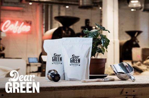 Award-winning Dear Green Coffee