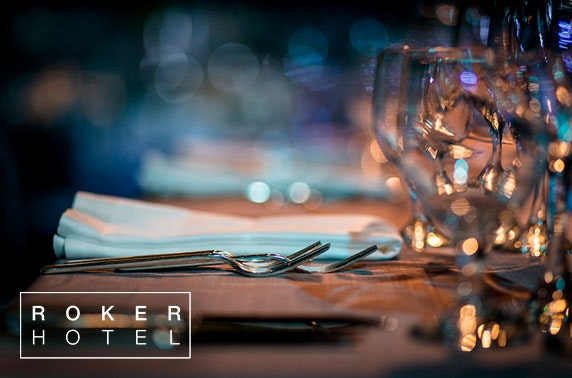 Christmas party overnight at Roker Hotel, Sunderland