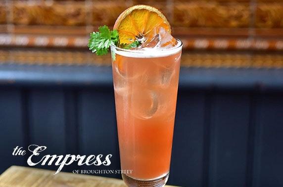 Empress of Broughton Street voucher spend - valid 7 days!