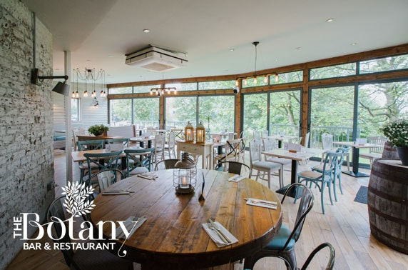 The Botany Bar & Restaurant dining - valid 7 days