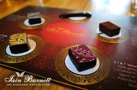 Award-winning chocolate tasting