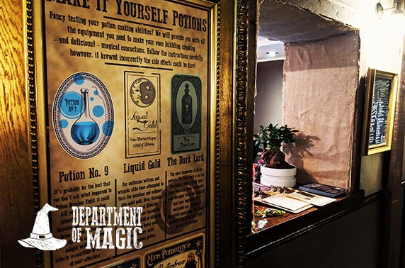 Magic potions or escape room at Department of Magic, Old Town