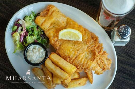 Dining at Mharsanta, Merchant City - from £6pp