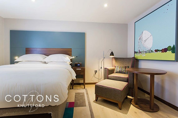 4* Cottons Hotel stay