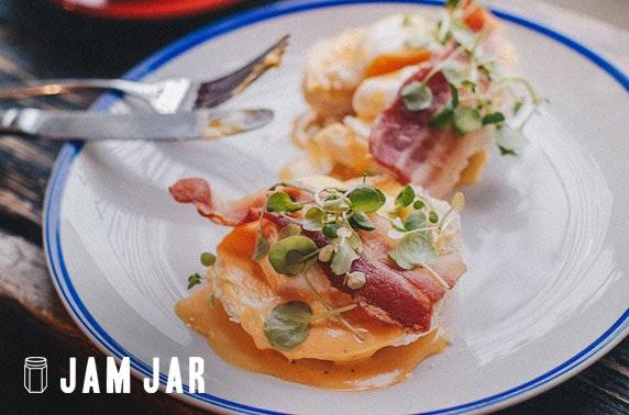 Weekend brunch at Jam Jar, Jesmond