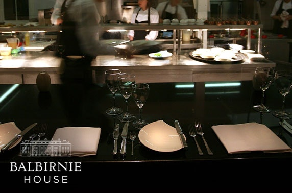Exclusive chef's table dining experience at 4* Balbirnie House Hotel